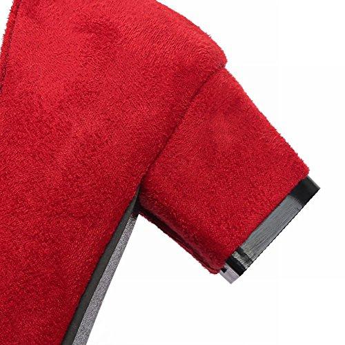 MissSaSa Damen Pointed toe Blockabsatz Pumps Rot