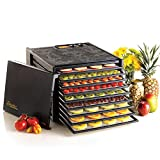Excalibur 3926TB 9-Tray Electric Food Dehydrator with Temperature...