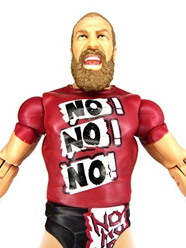 WWE Daniel Bryan Exclusive Figure Entrance Shirt Mattel Basic - Loose (Wrestling Belts Walmart)