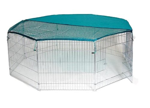 BUNNY BUSINESS 8-Panel Playpen with Free Safety Net, for sale  Delivered anywhere in USA