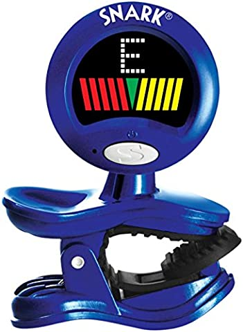 Snark SN-11 All-Instrument Clip-On Tuner Blue (Tuner For Stringed Instruments)