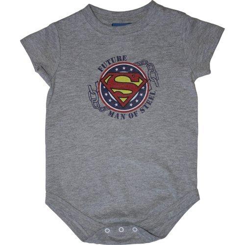 Infant: Superman- Future Man Of Steel Onesie Infant Onesie 1 x 1in]()