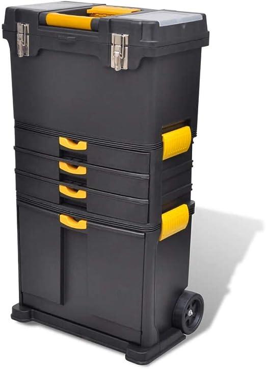 vidaXL 140910 caja de herramientas Caja de herramientas Caja de herramientas Caja de herramientas: Amazon.es: Jardín