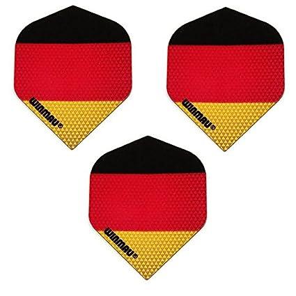 Amazon.com: Winmau Mega Paquete de 3 bandera alemana ...