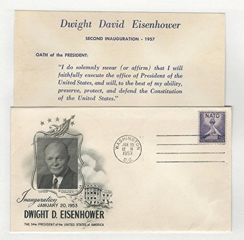 United States, Postage Stamp, Cover Eisenhower Inauguration 1953 (A)