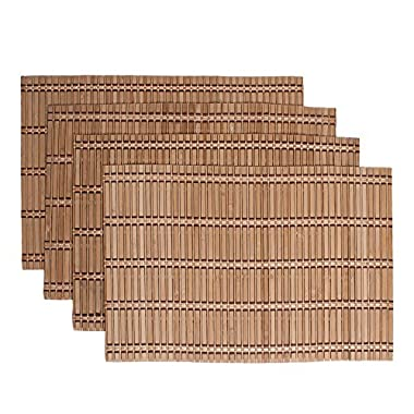 Benson Mills Caribbean Bamboo Placemat (Set of 4), Brown