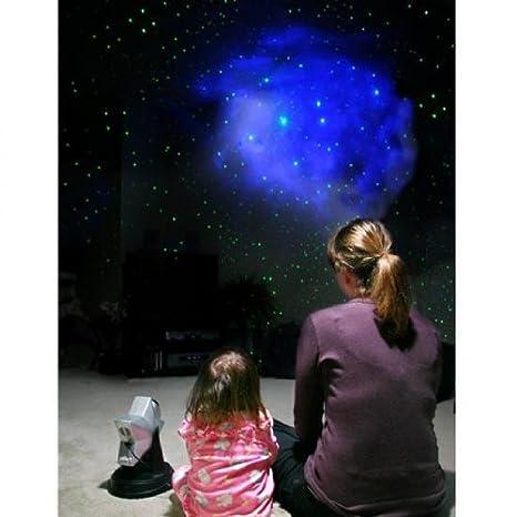Amazon.com: LZR Proyector estrellas – azul holograma RGB ...