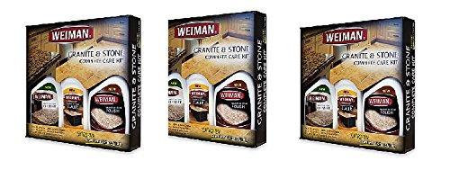 Weiman Granite and Stone Complete Care Kit (Set of 3, 3) by Weiman (Image #3)