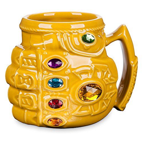 Halloween Inspired Coffee Drinks - Marvel Thanos Infinity Gauntlet Mug -