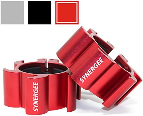 Synergee Aluminium Barbell Collars Crossfit product image