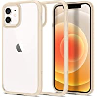 Spigen iPhone 12/12 Pro Case Ultra Hybrid - Sand Beige