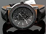 Super Techno Mens Diamond Watch 0.10ct
