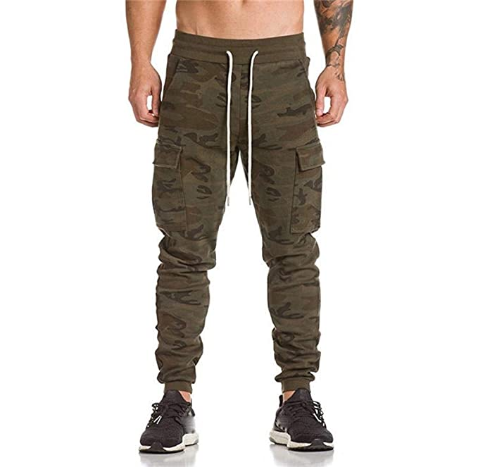 Huixin Jogger Cargo Chino Pants Slim Fit Stretch Trousers Moda Pantalones  Cargo con Multi Pocket Camouflage Pants Sports Trousers  Amazon.es  Ropa y  ... 44e8fd58228a