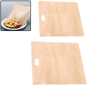 1Pc Toaster Bags for Grilled Cheese Sandwiches Made Easy Reusable Non - Stick Bag Fast and Efficient