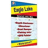 Eagle Lake (Ontario) Fishing Map