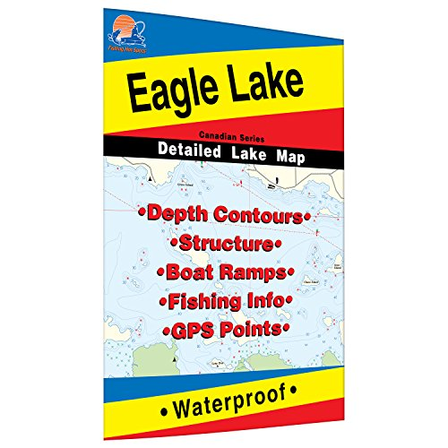 Eagle Lake (Ontario) Fishing Map