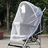 Euone Mosquito Net, Stroller Pushchair Pram Mosquito Fly Insect Net Mesh Buggy Cover for Baby Infant