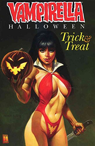 Vampirella: Halloween Trick & Treat #1A VF/NM ; Harris comic book -