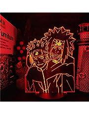 Naruto - Uzumaki Naruto Jiraiya Achrylick 3D Lamp
