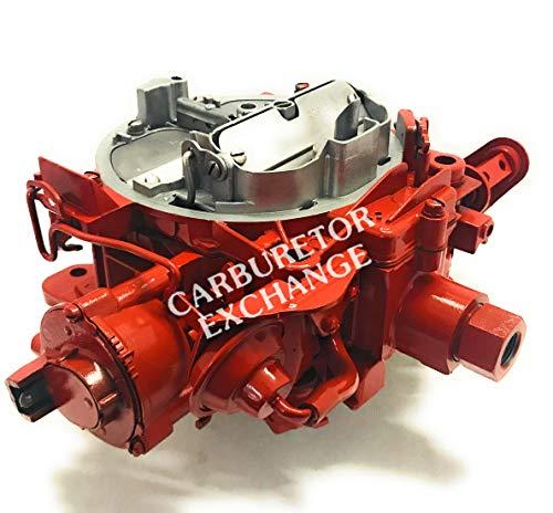 Volvo Penta Marine Rochester Quadrajet Remanufactured 4 Barrel Carburetor 5.7L w/Throttle Lever