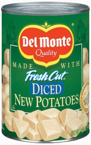 Del Monte Diced New Potatoes 14.5 oz (Pack of 12)