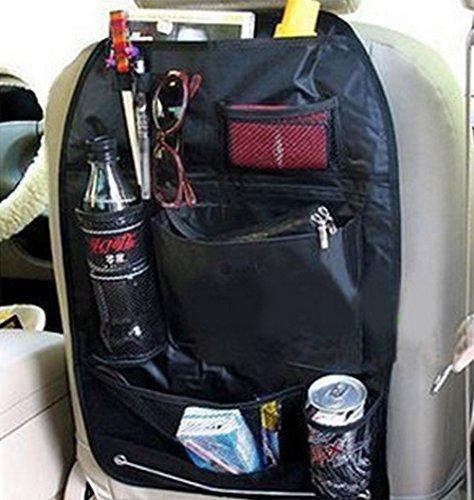 Autozubeh/ör Kick Mats Schutz f/ür Auto Aufbewahrungstasche f/ür Autositz Baby-Kinderwagen Schwarz Reise-Halterung LAAT Autositz-Organizer mit mehreren Taschen