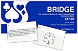BRIDGE FLASH CARDS - The Standard Plays of Card Combinations - The Plays Every Bridge Player Must know