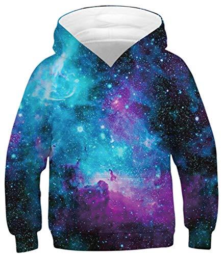Ocean Plus Hoodie voor Jongens met Dierenprint Lange Mouw Sweatshirt met Capuchon voor Kinderen