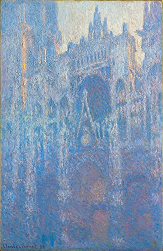 The Portal Of Rouen Cathedral In Morning Light - Claude Monet - Giclee Canvas Prints 28