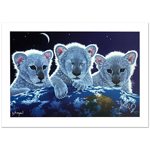 """Secret, Mystery & Hope"" Limited Edition Giclee by William Schimmel (36″ x 24″), Numbered and Hand Signed by the Artist and Siegfried and Roy! Comes with Certificate of Authenticity!"