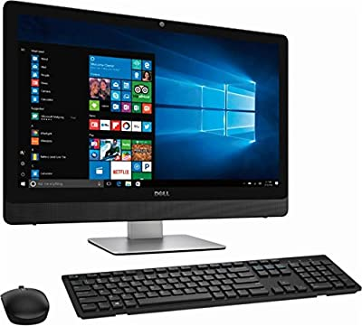 """Dell Inspiron 5000 All-In-One Flagship 23.8"""" FHD Touchscreen Desktop, Intel Core i7-7700T Quad-Core, 12GB, 512GB SSD, Windows 10 Home, Wireless Keyboard and Wireless Mouse"""