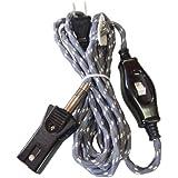 F-FACTORY こたつコード 中間スイッチ付 コタツ用電源コード3m 最大700w 7A-125V/C-076