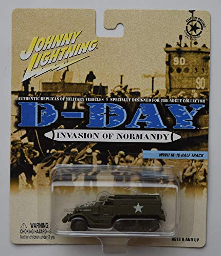 Johnny Lightning Invasion of Normandy, WWII M-16 Half Track