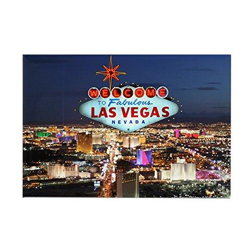 "CafePress - Las Vegas Magnets - Rectangle Magnet, 2""x3"" Refrigerator Magnet"