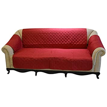 Amazon Com Pathside Retro Style Sofa Cover Leather With Anti Jump