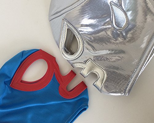 [Nacho Libre/ Santo Lucha Libre Wrestling Mask ( pro-fit) Costume Wear,] (Childrens Nacho Libre Costume)