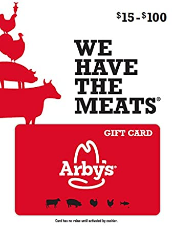 Amazon Com Arby S Gift Card 50 Gift Cards