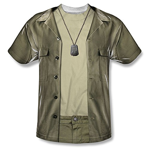 Mash Radar Costume (MASH - Kid's T-Shirt Hawkeye Costume , XL, White)