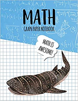 Math Graph Paper Notebook: Blank Graph Note Book Pages