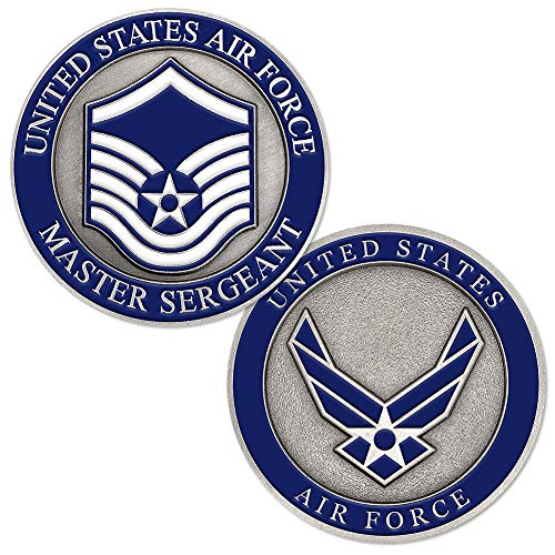 U.S. Air Force Master Sergeant Challenge Coin ()