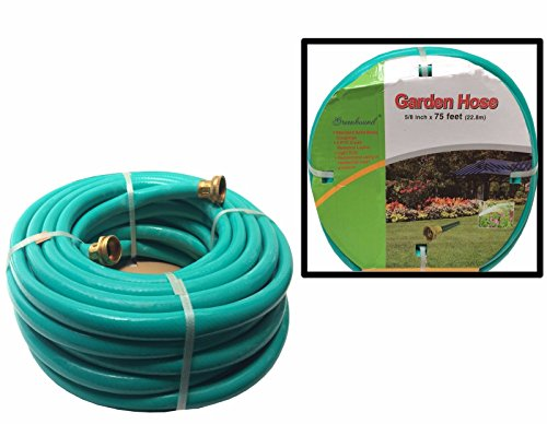 LavoHome Medium Duty Premium Garden Hose Lawn Water (75 Feet, Garden Hose) by LavoHome