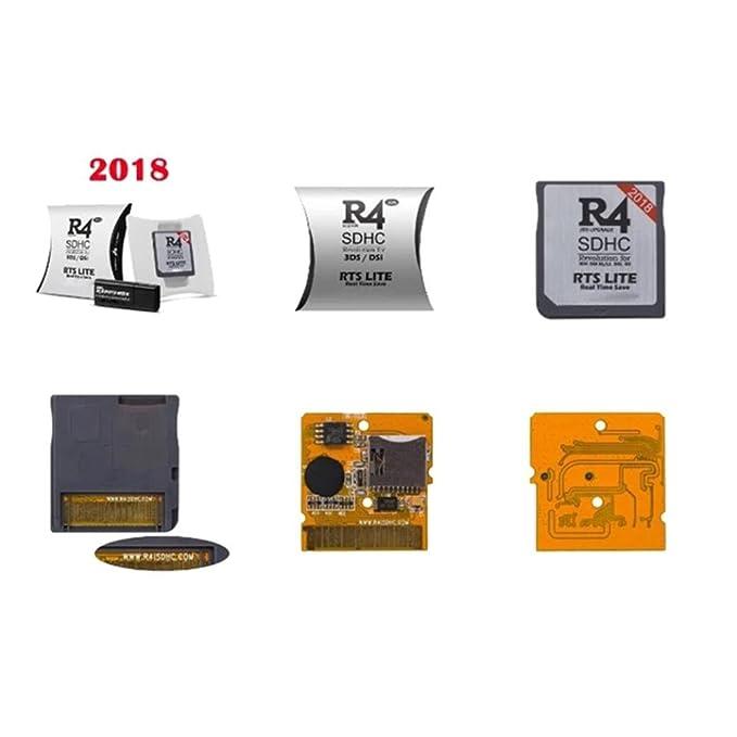Goldatila R4 SDHC Micro SD tarjeta adaptador de memoria F DS ...