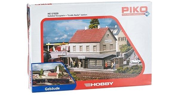 H0 PI BS station Burgstein by Piko: Amazon.es: Juguetes y juegos