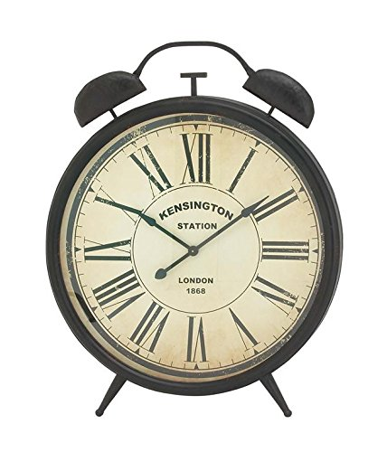 Deco 79 Metal Wall Clock, 40 by 50