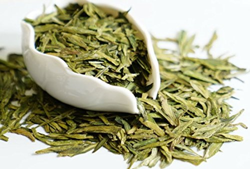 MeiMei FineTeas Long Jing Dragon Well Green Tea - First Grade Authentic Chinese Loose Leaf Tea - Organically Grown Single Origin - High Antioxidants High Fragrance and Sweet (100g/3.52oz)