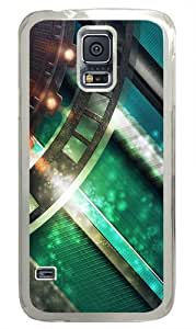 Gear Custom Samsung Galaxy S5/Samsung S5 Case Cover Polycarbonate Transparent