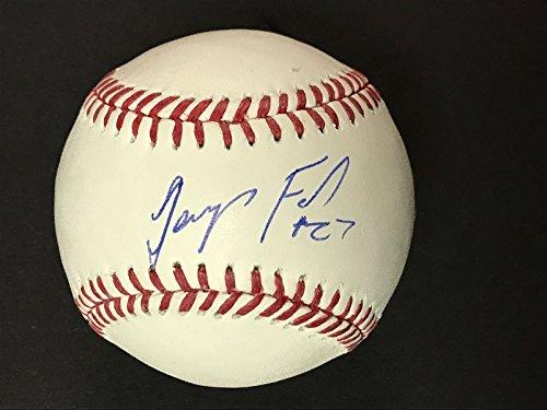 Autographed/Signed Jeurys Familia New York Mets Rawlings Official Major League Baseball ROML Fanatics & MLB COA (Jersey Autographed Mets)