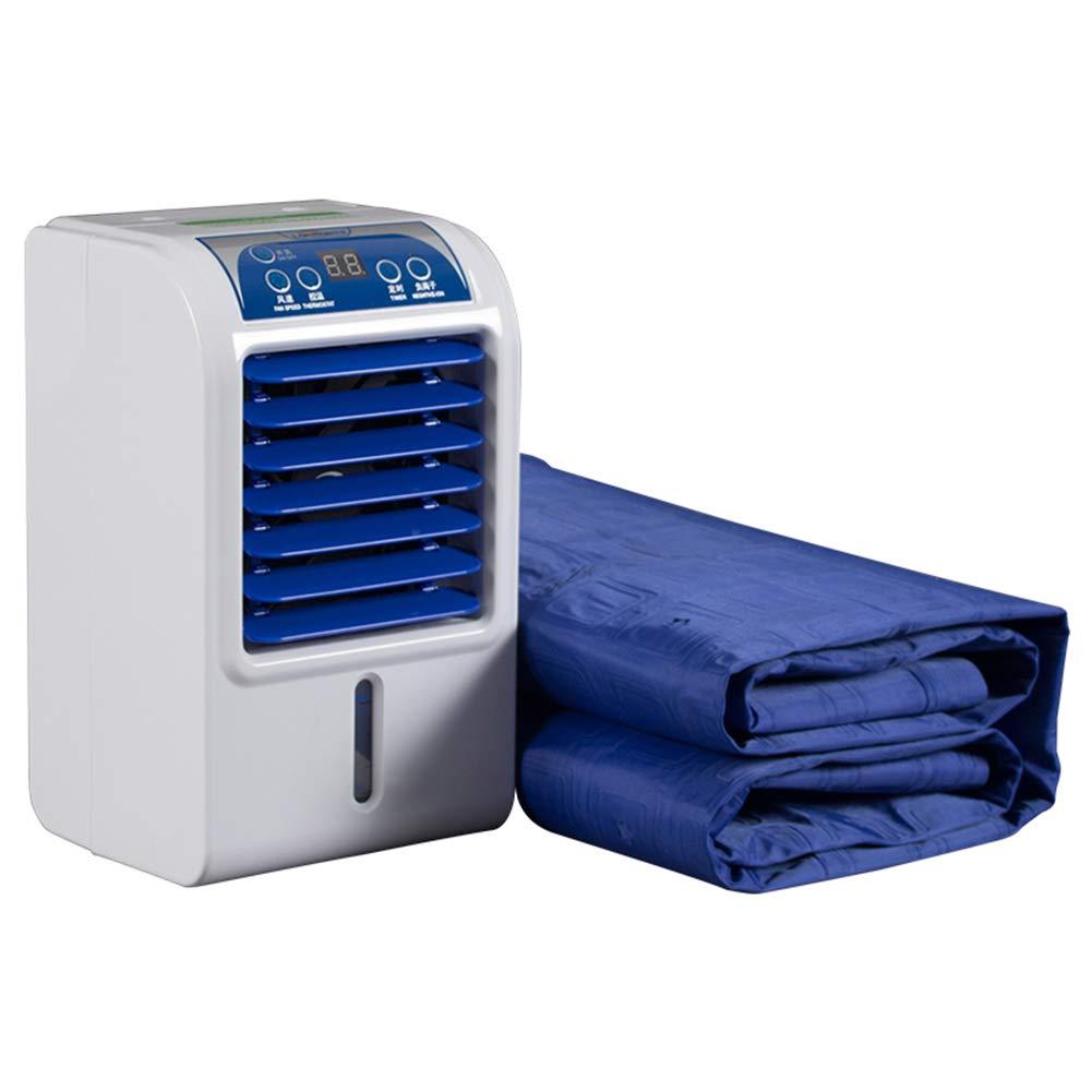 PIGE Ventola per il condizionamento d'aria raffreddata ad acqua – materasso di raffreddamento domestico silenzioso con purificatore di ioni negativi con pannello di controllo a LED, interruttore a t Prezzi offerte