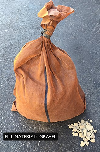 Sandbaggy - 17'' x 27'' Long-Lasting Sandbags - Brown Color - Lasts 1-2 Yrs - Monofilament (Pack of 100) by Sandbaggy (Image #5)
