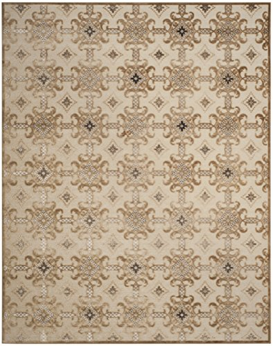 (Safavieh MSR74303-3540-810 Martha Stewart Collection Area Rug, 8' x 10', Caramel)